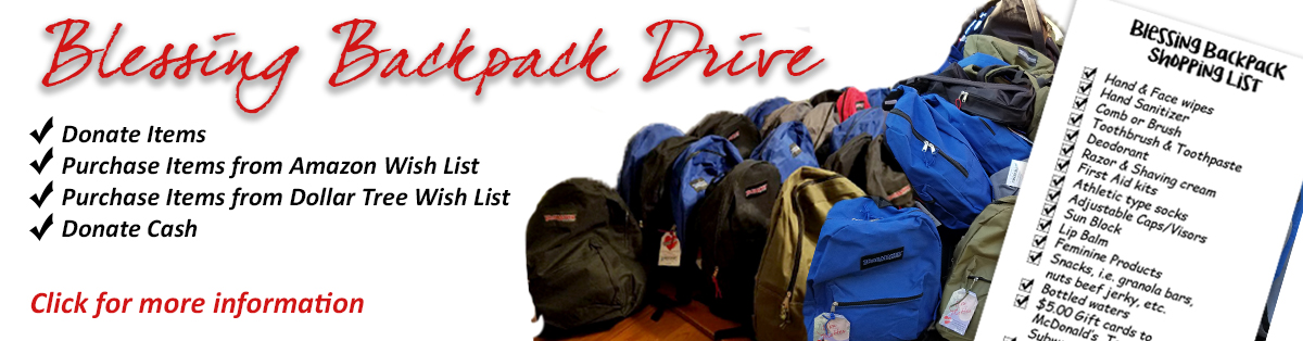 Blessing Backpack Drive